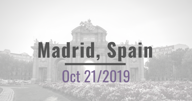 Oct 21, Madrid Workshop on IP for Plants