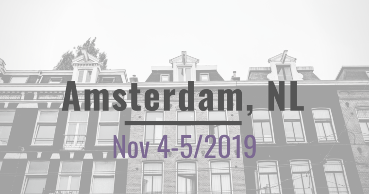 Nov 4(tbc) – 5, Amsterdam Workshop on IP for Plants