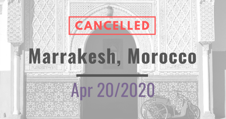 20/04/2020 – Marrakesh Workshop on IP for Plants