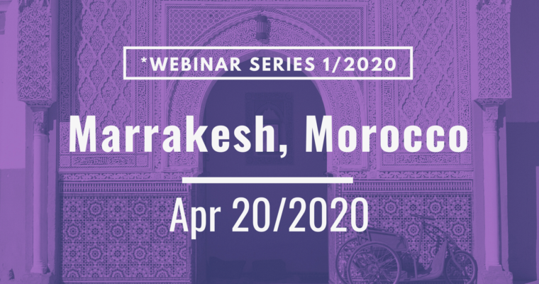 20/04/2020 – Marrakesh Workshop on IP for Plants