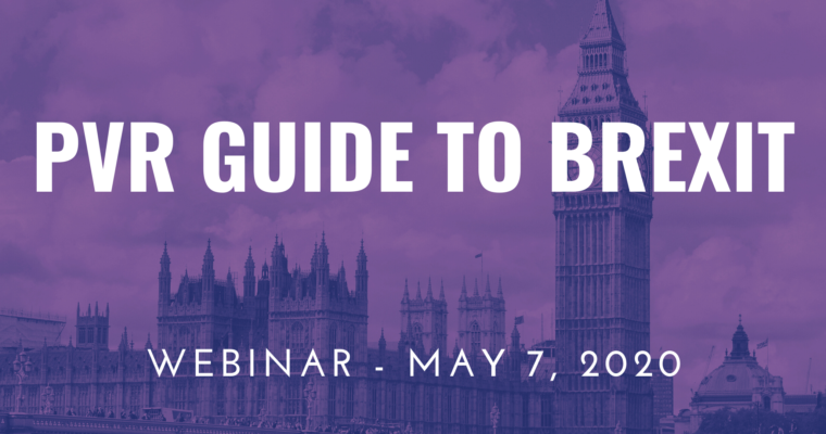 "07/05/2020 – Webinar ""Plant Variety Rights Guide to Brexit"""