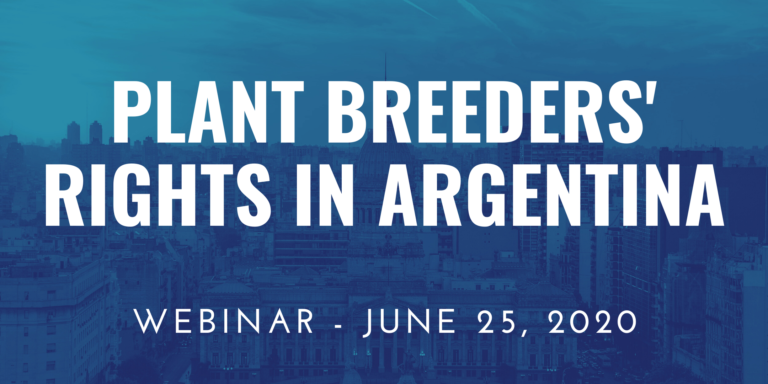 Plant Breeders Rights in Argentina