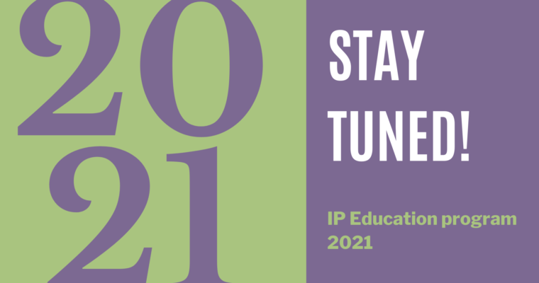Stay tuned for the webinar (& workshop) program 2021!