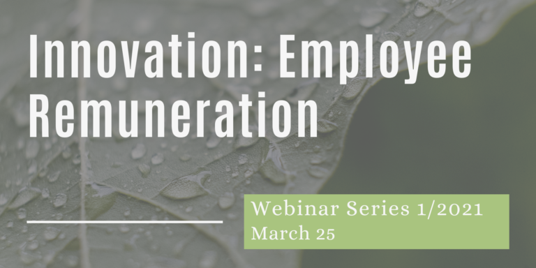 The CIOPORA Academy Webinar - Innovation and Employee Remuneration